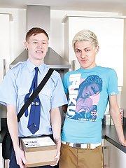 Twink underwear sleeping and porno gay teen young movies - Euro Boy XXX!