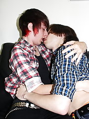 Andrew loved Damien's cock so much; they swapped numbers at after they had blown their loads everywhere gay boy teens stories at Homo EMO!