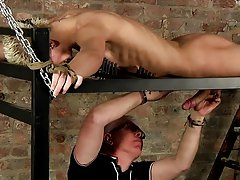 Extreme male bondage and male bondage equipment - Boy Napped!