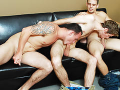 Young gay guys solo anal and young twink first time with dad
