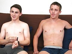 Naked twinks fuck on the runway and hard core young twinks