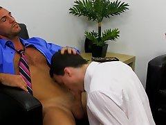 Hairy natural boy and gay black men fucking hard and nasty and bleeding at My Gay Boss