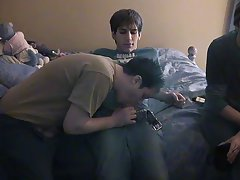 Free gay videos adult theater bj and gay men twist their cocks together - at Boy Feast!