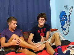 Twink stripped and xxx male jail fucking