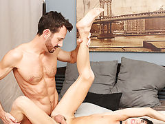 When Bryan Slater has a stressful day at work, that guy comes home and takes it out on his little villein boy, Kyler Moss gay hardcore video clips at