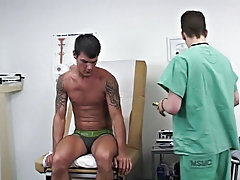 I explained to him that we've certain techniques in this clinic and proceeded to grab his 10-Pounder and place his soft schlong into my throat as