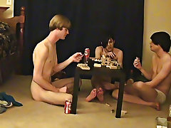 """ This is a lengthy video for you voyeur types who like the idea of watching those boyz receive naked, drink, talk and play indecent games free m"