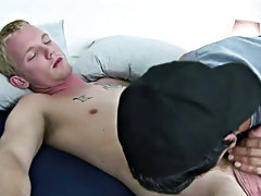 He was moaning as I shoved that toy in all the way free gay cock sucking twin