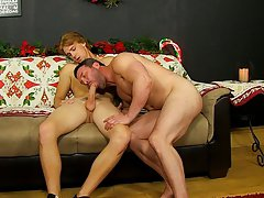 Skinny pale naked young men and dress sock fucking at Bang Me Sugar Daddy