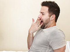He finds himself bent over the bed and then flat on his back as Tyler pounds his needy ass free hardcore gay ass  at My Husband Is Gay