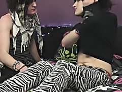 Then Zaccary decides to take it up a notch and ties Kayden up and fucks him hard!! They finish up with two epic cumshots, and Zaccary even gives Kayde