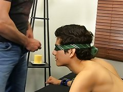 Mike ties up and blindfolds the youthful Spaniard previous to feeding him his cock gay hardcore tgp at Bang Me Sugar Daddy