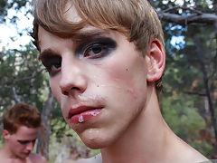 Teen bareback hardcore porn and twinks swallowing