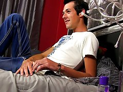 We love twinks who come to work with us because they've enjoyed jerking off to our videos, and Alex Wilde is one such twink first time gay sex vi