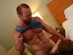 Gay male anal fuck and gay with anal beads at I'm Your Boy Toy