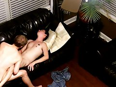 Emo fucking teen forum and gay leather biker with cum all over his leather - at Tasty Twink!