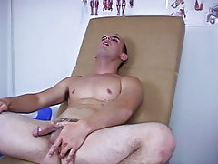 Cumshot on black guys chest and cumshot from boys
