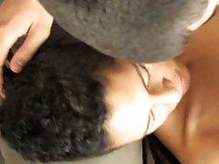 Hot black twink masturbating at Boy Crush!