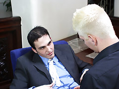 They finish with two hot cumshots command financial first at My Gay Boss
