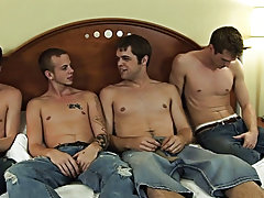 Gay travel in group and gay oral group sex