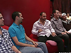 Straight guys gay sex clips and twinks in silky panties at Sausage Party