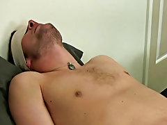 Men masturbating on their knees and man piss and masturbate