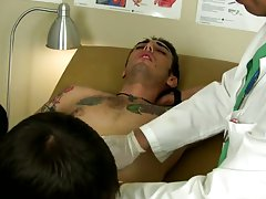 Gay twinks in their underwear porn and young boy gets fucked by his doctor