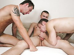 Massive cock porn oral gay circle jerk cumming and twink yellow bicycle jerking at Straight Rent Boys