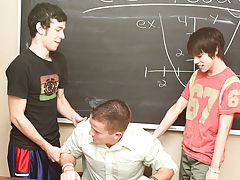 Ryan is up first and Drake pushes his head down on Kyler's dick while spanking and fucking him first financial bank manitowoc at Teach Twinks