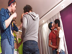 Nasty group gay sex xxx and gay group sex anal military at Crazy Party Boys