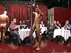 Hairy straight physical exam and guys ass bleeds hardcore after big cock at Sausage Party
