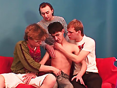 Gay group sex anal at BangedBoys