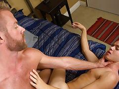 Emo twink boy dick sex party orgy video and uniform men masturbating at Bang Me Sugar Daddy