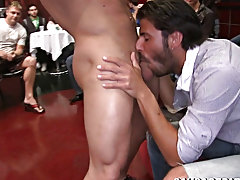 Twinks in swimmer shorts and gay twink prostitutes video at Sausage Party