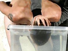 Straight men fucked gay bondage and mutual masturbation to orgasm - Boy Napped!
