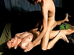 Gay emo twink gets fucked by cowboy and hot young guy with dick out - at Tasty Twink!