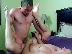 Young teens showing off their cocks and master gay fuck - Jizz Addiction!