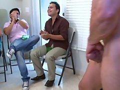 Gay group masterbation and group gay sex at Sausage Party