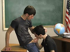 They're annoyed but they do the job anyway because they don't want to get in trouble gay anal twink cum at Teach Twinks