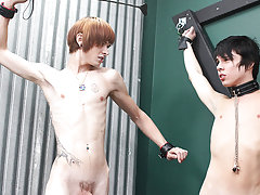 Chase Harding gets hot and kinky with Kyler Moss, Miles Pride and Roxy Red first gay oral sex