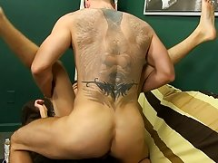 The young Latino lad heads over to see a movie, but before long he's getting screwed hard by Preston's large dick brutal gay anal at I'