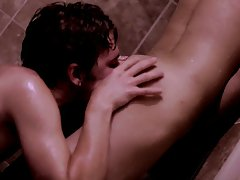 The vampire bends Jonathan over the sink to fuck him doggy style before taking him missionary, as well hot gay twink movies - Gay Twinks Vampires Saga