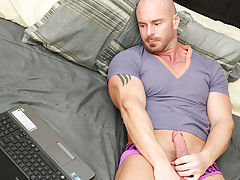 Mitch makes Kyler gag on his pecker previous to bending his hapless assistant over the ottoman for a hard spanking young hardcore gay sex at Bang Me S