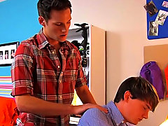 The scene ends with Jeremy helping Cameron to receive off by jerking him and rubbing his balls
