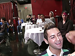 Latin boys straight sex and naked twinks dance at Sausage Party