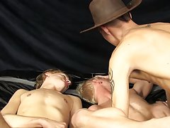 Ryan Conners playing the creepy, horny twink fucker first time boy sex