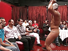 Straight freshman nude cock and fat men in suits gay blowjobs at Sausage Party