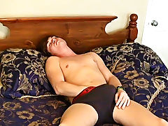 We don't truly care about his reasons, we just want to watch him jerk out a load my first gay cock sucking - at Boy Feast!