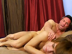 Fucking the black gay hunky doctor and men with unexpected erections at Bang Me Sugar Daddy