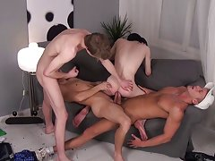 Old man with smooth boy and italian twinks xxx at Staxus